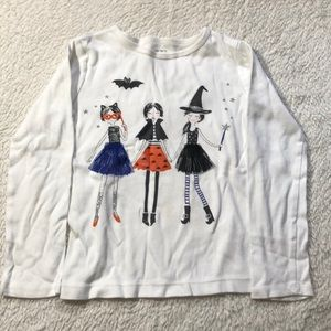Girls Halloween shirt